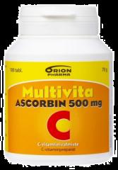 MULTIVITA ASCORBIN 500MG 100 TABL